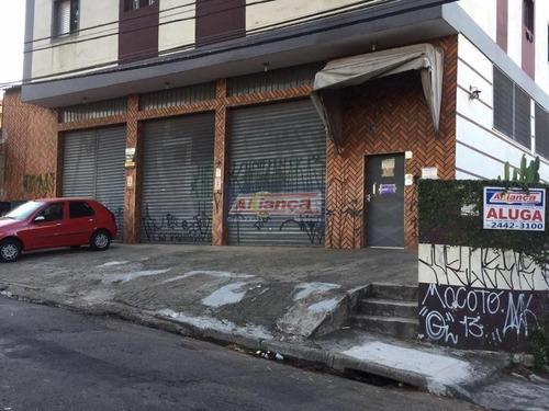 Salão Para Alugar, 550 M² Por R$ 7.000/mês - Vila Augusta - Guarulhos/sp - Cód.  Sl0576 - Ai13862