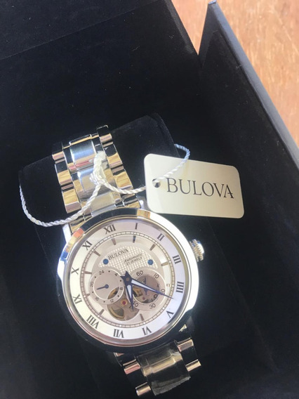Relógio - Bulova Bva Masculino 96a118 - Novo Na Caixa