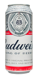 Cerveza Budweiser Rubia Lata 473ml Caja X24 01almacen