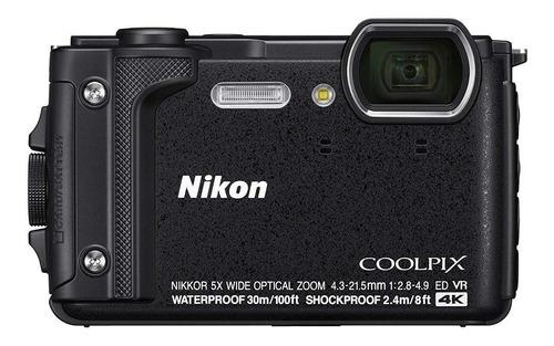 Nikon Coolpix W300 compacta color  negro
