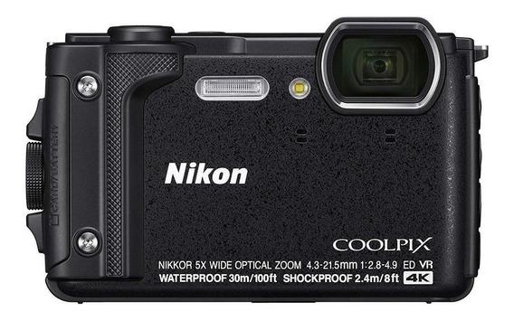Nikon Coolpix W300 compacta negra