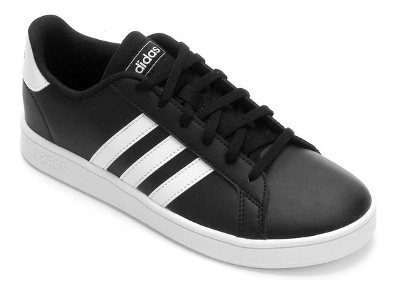 Tênis adidas Grand Court - Masculino - Preto/branco
