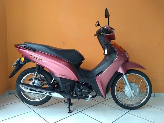 Honda Biz 100 Es 2014 Rosa