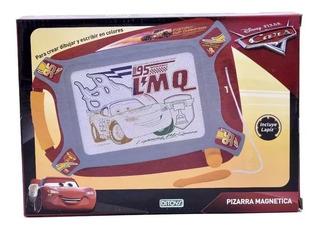 Pizarra Didactica Magnetica Cars Juguetes Infantiles Ditoys