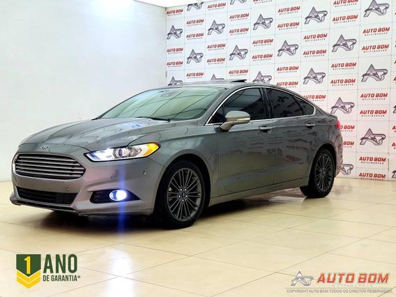 Ford Fusion Titanium 2.0 Gtdi Eco. Awd Automático 2014 2...