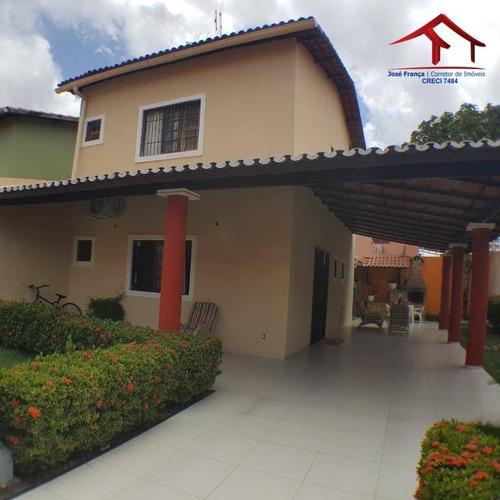 Casa Com 4 Dormitórios À Venda, 138 M² Por R$ 529.000,00 - Maraponga - Fortaleza/ce - Ca0075