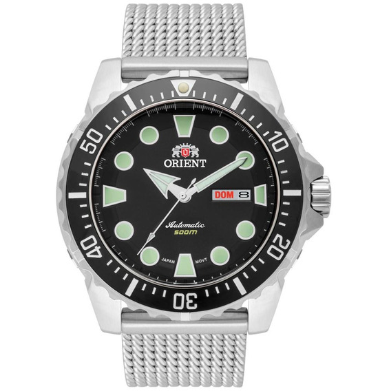 Relógio Orient Automático Masculino Kit 469ss073 P1sx
