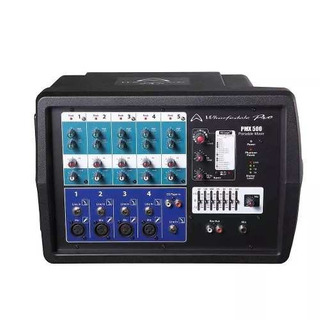 Wharfedale Pmx500 Consola Potenciada 5 Canales 150w Mixer.