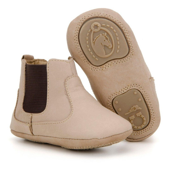 Botina Texana Infantil Baby Cowboy Capelli Boots 100% Couro