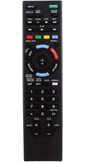 Controle Smart Tv Sony Bravia Netflix Kdl - Rm-yd101