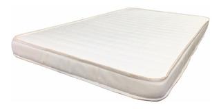 Colchón Para Cuna 80 X 150 X 7 Cm Franjas Blancas