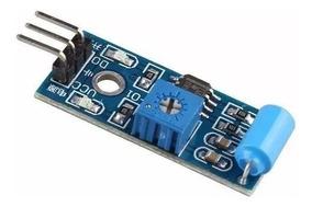 Módulo Sensor De Vibração Arduino Tilt Sw-420 Pic Arm