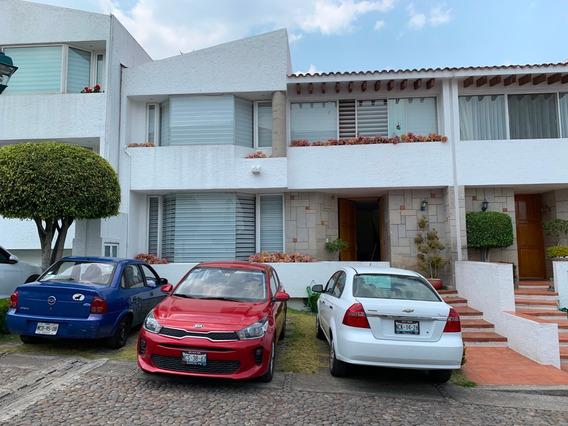 Preciosa Casa En Condomino A 10min Santafe Y 5min Interlomas