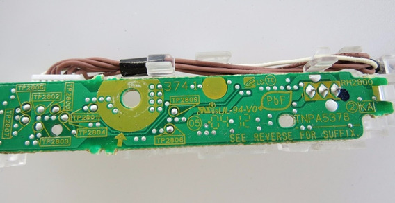 Sensor Tnpa5378 Controle Remoto Da Tv Panasonic Tc-l32x30b