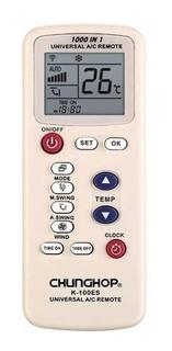 Control Remoto Universal Aire Acondicionado Chunghop K100es