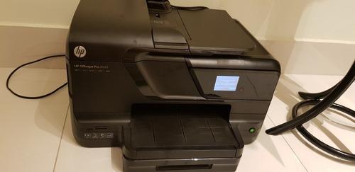Impressora Com Defeito Hp Officejet Pro 8600 + Cartuchos.