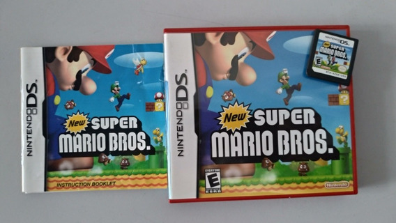 New Super Mario Bros Ds Com Manuais