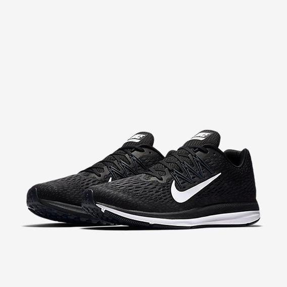 Tênis Nike Zoom Winflo 5 Preto Original