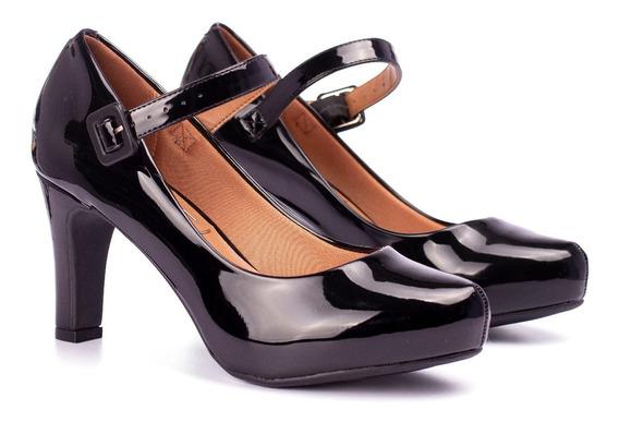 Zapatos Mujer Taco Medio Con Pulsera Massimo Chiesa Vizzano