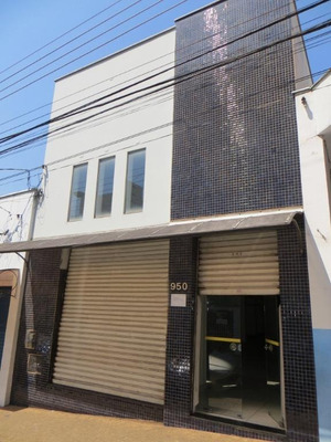 Salão Comercial Para Locação, Centro, Piracicaba. - Sl0542