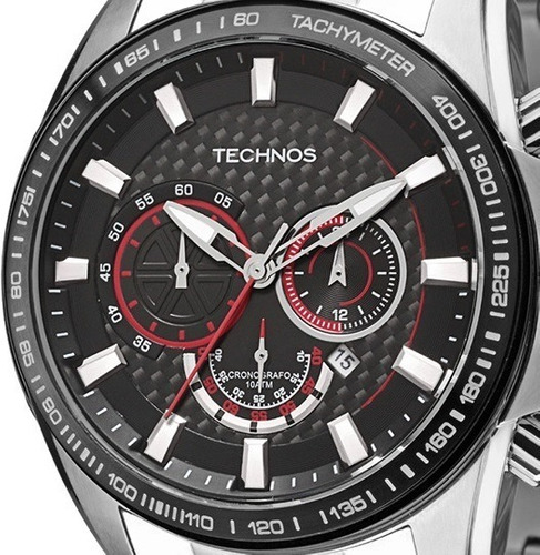 Relógio Technos Carbon Masculino Os20ig/1p  -  Oficial Nfe