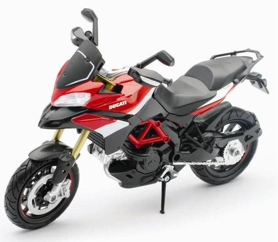 Moto Ducati Multistrada 1200 S Pikes Peak Esc 1:12 New Ray