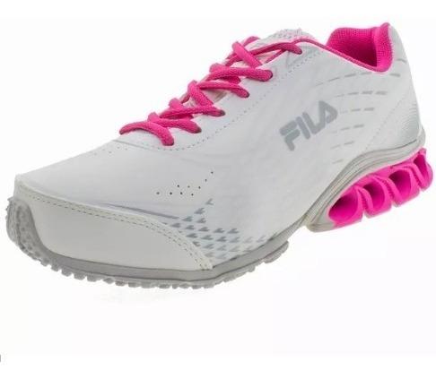 Tênis Infantil Feminino Branco/pink Fila - 31j444x