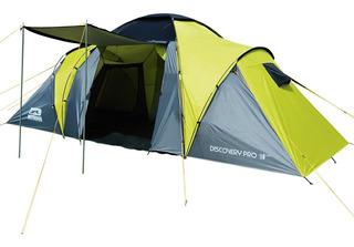 Carpa 2 Dormitorios Con Comedor Discovery Pro 4 Personas