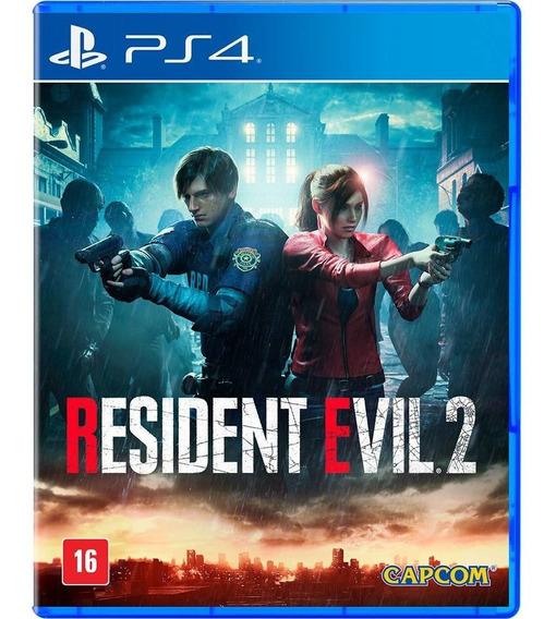 Resident Evil 2 Ps4 Midia Física Português