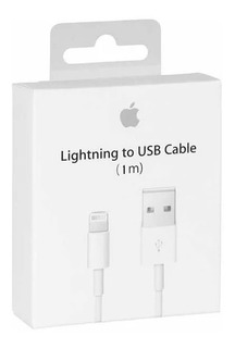 Cable iPhone Lightning 1 M iPhone 6 7 8 Nuevo
