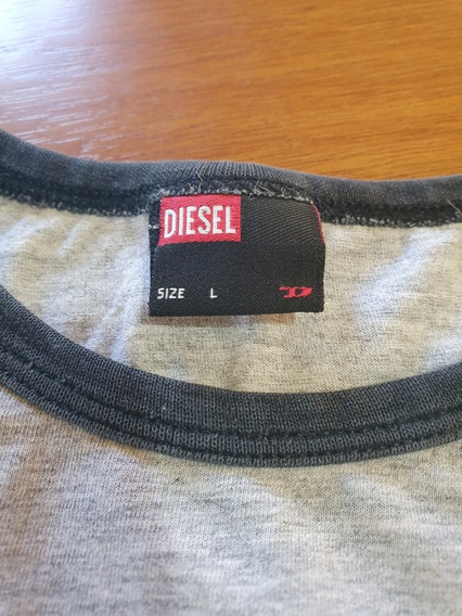 Camiseta Diesel Masculina Original Tam M Brasil .obc Store