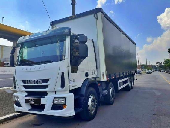 Iveco 310e30 Bitruck 8x2 2018 Baú Sider Único Dono Baixo Km
