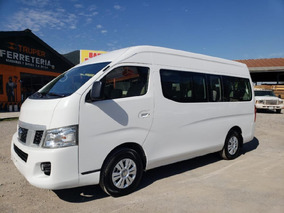 Nissan Urvan 15 Pasajeros 2017