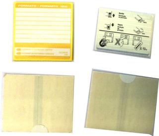 4pack Etiquetas Para Diskettes De 3 1/2 X10 Etiquetas E5050