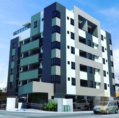 Apartamento Com 2 Dormitórios À Venda, 55 M² Por R$ 209.000 - Bancários - João Pessoa/pb - Ap6645