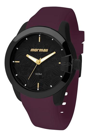 Relógio Mormaii Feminino Roxo Maui Mo2035dw/8n