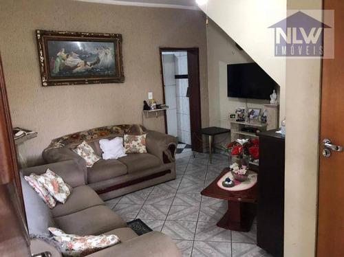 Imagem 1 de 30 de Sobrado À Venda, 157 M² Por R$ 424.000,00 - Vila Das Mercês - São Paulo/sp - So0091