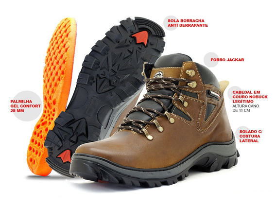 Bota Coturno Adventure Trilha Atron Shoes Crazyhor Confort