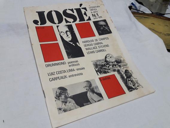 140 Revista José Literatura Critica & Arte Nº 1 - Julho 1976