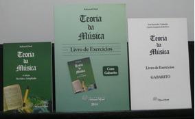 Teoria Da Música + Livro De Exercícios + Livro De Gabarito