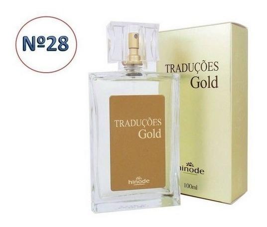 Perfume Masculino 100ml Traduções Gold Nº 28 Hinode