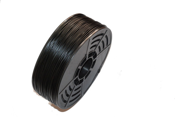 Filamento Abs Premium 1.75mm 1 Kg Preto Impressora 3d