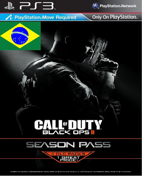 Call Of Duty Black Ops Ii + Season Pass Bundle Ps3 Psn Pt-br