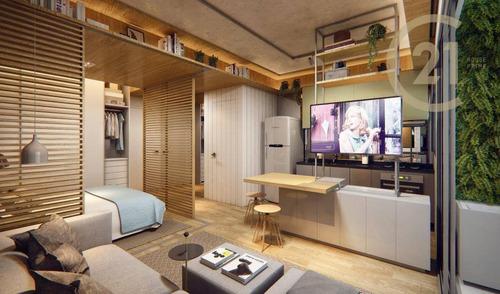 Apartamento Com 1 Dormitório À Venda, 47 M² Por R$ 778.000,00 - Pinheiros - São Paulo/sp - Ap22997