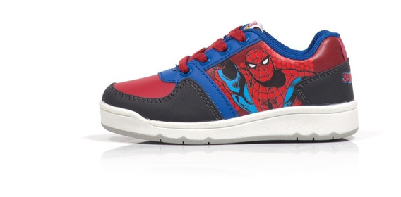 Zapatilla Marvel Atomik Niños Casual Skater Cordon Spiderman