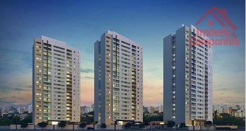 Apartamento Com 2 Dormitórios À Venda, 56 M² Por R$ 434.000,00 - Benfica - Fortaleza/ce - Ap1348