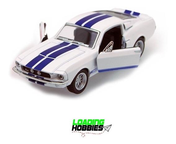 Auto Ford Mustang Shelby 1967 Escala 1:38 Maqueta Kinsmart