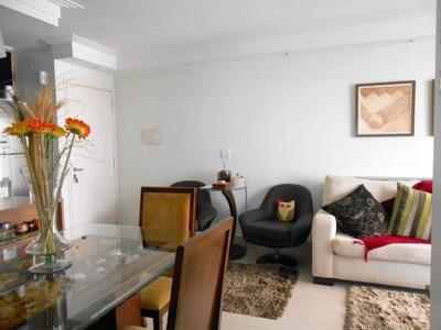 Apartamento Em Morumbi, São Paulo/sp De 80m² 3 Quartos À Venda Por R$ 535.000,00para Locação R$ 2.500,00/mes - Ap256459lr