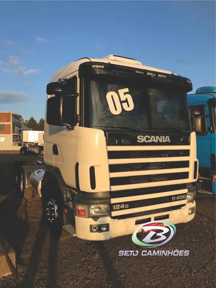 Scania 124 400 6x2 Ano 2005