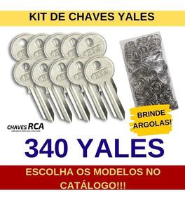 Kit De 340 Chaves Yales Virgens Para Cópia - Rca